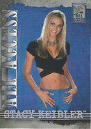 2002 WWF All Access (Fleer) Stacy Keibler 42