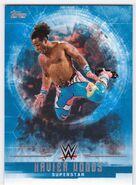 2017 WWE Undisputed Wrestling Cards (Topps) Xavier Woods 39
