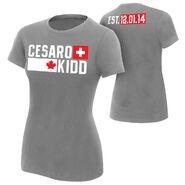 Cesaro & Tyson Kidd Established Women's Authentic T-Shirt