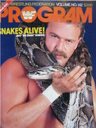 WWF Wrestling Program - Volume 142
