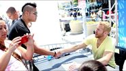SummerSlam 2013 Axxess day 1.12