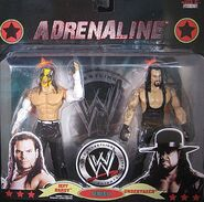 WWE Wrestling Adrenaline Series 37 Jeff Hardy & The Undertaker