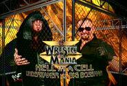 WrestleMania 15 Undertaker vs Big Bossman in hell in a cell