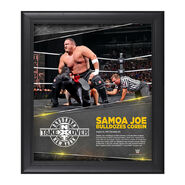 Samoa Joe NXT TakeOver Brooklyn 15 x 17 Photo Collage Plaque