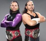 Hardy Boyz Raw Tag Champions