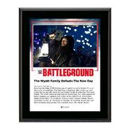 Wyatt Family Battleground 2016 10 x 13 Commemorative Photo Plaque