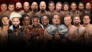 SS 2016 10-on-10 Survivor Series Tag Team Elimination Match