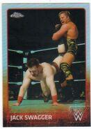 2015 Chrome WWE Wrestling Cards (Topps) Jack Swagger 34