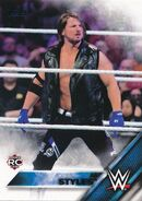 2016 WWE (Topps) Then, Now, Forever AJ Styles 102