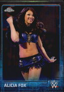 2015 Chrome WWE Wrestling Cards (Topps) Alicia Fox 3