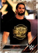 2016 WWE (Topps) Then, Now, Forever Seth Rollins 142
