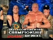 Rob Van Dam vs Brock Lesnar