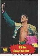 2012 WWE Heritage Trading Cards Tito Santana 106