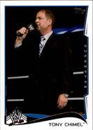 2014 WWE (Topps) Tony Chimel 90