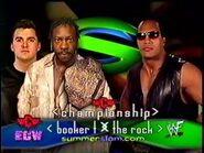 Booker T vs The Rock