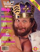 WWF Magazine September 1989