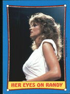 1987 WWF Wrestling Cards (Topps) Her Eyes On Randy 44