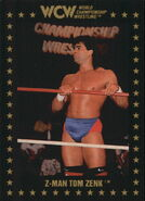 1991 WCW Collectible Trading Cards (Championship Marketing) Tom Zenk 105