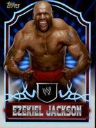 2011 Topps WWE Classic Wrestling Ezekiel Jackson 23