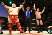 W-1 WRESTLE-1 Sunrise Tour 2015 - Night 1 2