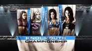 3 4-Way TNA Knockout's Championship Match (Winner )