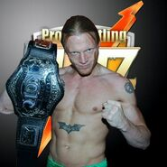 Zach Thompson in Pro Wrestling Blitz