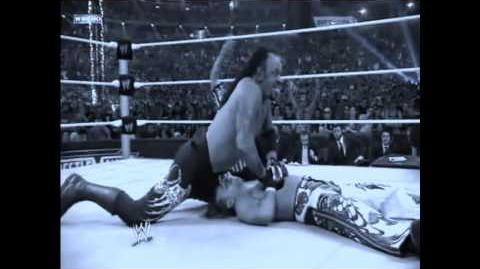 Tribute to The Undertaker 18-0 at Wrestlemania