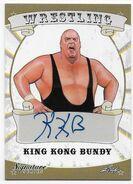 2016 Leaf Signature Series Wrestling King Kong Bundy 46