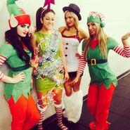 04 - Paige, Bayley, Lana, Emma