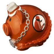 Brodus Clay Piggy Bank