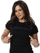 Impact Rhinestone Womens Shirt