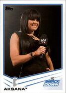 2013 WWE (Topps) Aksana 44
