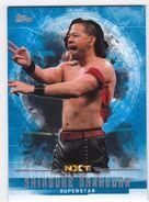 2017 WWE Undisputed Wrestling Cards (Topps) Shinsuke Nakamura 57