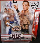 WWE Battle Packs 17 Rey Mysterio & The Miz