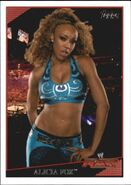 2009 WWE (Topps) Alicia Fox 50