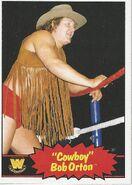 2012 WWE Heritage Trading Cards Bob Orton 70