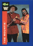 1991 WWF Classic Superstars Cards The Mountie 86
