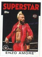 2016 WWE Heritage Wrestling Cards (Topps) Enzo Amore 64