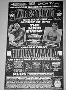 WWF Big Event program