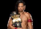 NXT Championship Shinsuke Nakamura