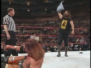 Royal Rumble 2000 Foley with Thumbtacks