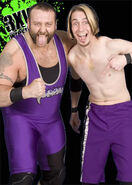 Mad dog and Krotch in 3XW