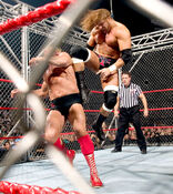 Triple H vs Ric Flair (Cage) 2