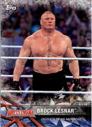 2017 WWE Road to WrestleMania Trading Cards (Topps) Brock Lesnar 58