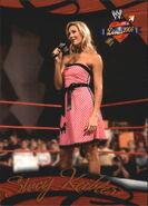2004 WWE Divas 2005 (Fleer) Stacy Keibler 30