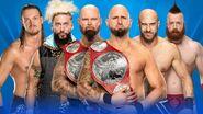 WM 33 Raw Tag Team Championship Match