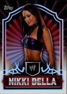 2011 Topps WWE Classic Wrestling Nikki Bella 50