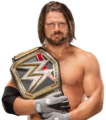 AJ STYLES WWE CHAMP