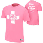 Antonio Cesaro Rise Above Cancer Pink Authentic T-Shirt