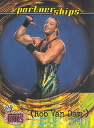 2002 WWE Absolute Divas (Fleer) RVD 58